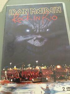 Iron Maiden - Iron Maiden: Rock In Rio [DVD] - DVD  📀 - FREE POSTAGE