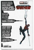 Miles Morales Spider-Man #25 2021 Mark Bagley Skyline Variant Cover Marvel Comic