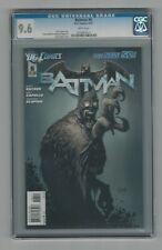 Batman #6 CGC 9.6 NM+ DC Comics New 52 Greg Capullo Cover 4/12