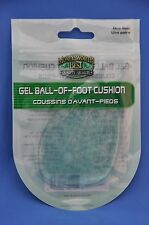 Moneysworth & Best Gel Ball of Foot Cushion Support Insert Pad- M&B- 1 Pair