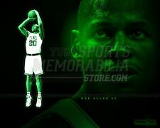 Ray Allen Boston Celtics green  8x10 11x14 16x20 photo 251