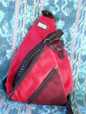 Red & Black Hedgren Back Pack Urban Shoulder Bag Backpack