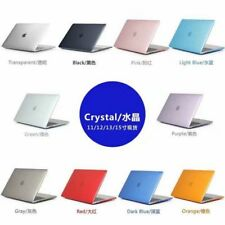 Crystal Clear Hard Case For Apple Macbook Air Pro 13 15 2020 Laptop Cover Shell