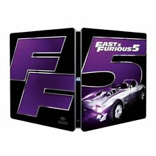 FAST AND FURIOUS 5 STEELBOOK BLU-RAY NUOVO