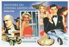 MARILYN MONROE JAMES BOND MARLON BRANDO CINEMA HISTORY 1999 MNH STAMP SHEETLET