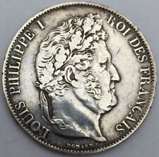 Piece 5 francs Louis Philippe 1847 A argent #311