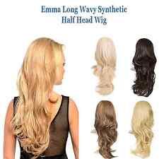 Emma Long Wavy Synthetic Half Wig By KOKO