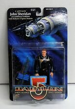 1997 Babylon 5 Captain John Sheridan Figure by Exclusive Premiere Nip