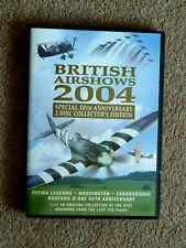 BRITISH AIRSHOWS 2004   -  AIRSHOW AVIATION - ( 2 DVD'S  -2004 )    FREE P&P