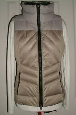 LOLE' WOMEN'S QUILTED PUFFER VEST DOWN & FEATHERS TAN SIZE SMALL