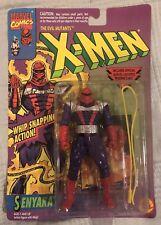 UNCANNY X-Men Action Figure Toy Biz Evil Mutants SENYAKA Vintage 90s (MOC)