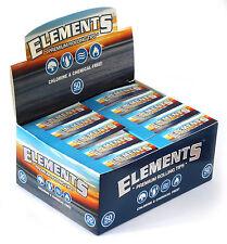 1 box - ELEMENTS Premium regular Rolling Filter tips - 50 booklets x 50 tips
