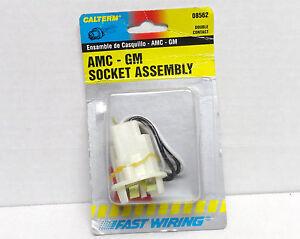 AMC-GM Pigtail-Tail Lamp Socket Calterm 08562