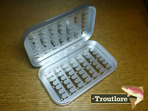 RICHARD WHEATLEY 6 INCH CLIP FLY BOX SMALL CLIPS - NEW 1621 FLYBOX MADE IN UK