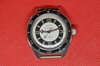 vintage military Soviet VOSTOK Amphibian Diver AntiMagnetic watch 2409a Serviced