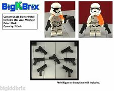 x7 Each DC15S Blasters for LEGO Star Wars Clone Troopers Minifigs BLACK ABS #2