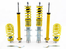 VW New Beetle (1998-2010) FK AK Street Adjustable Coilover Suspension Kit NEW