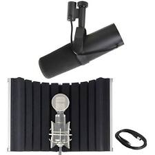 Shure SM7B Vocal Microphone with Marantz Professional Sound Shield Compact