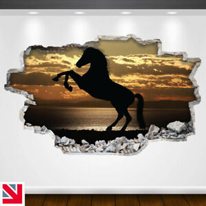 HORSE SILHOUETTE ANIMAL PONY Wall Sticker Decal Vinyl Art A5