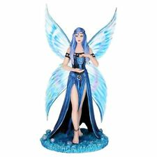 Enchantment Blue Fairy 25cm High Nemesis Now Anne Stokes Chalice Magical Maiden