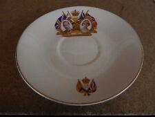 King George VI 1937 Coronation  Saucer 14.5 cm