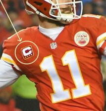 NFL 2017 SEASON KANSAS CITY CHIEFS' CAPTAIN Alex Smith IRON-ON 3⭐STAR PATCH