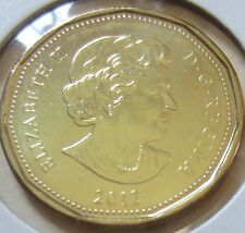 2012 Canada Lucky Loonie One Dollar Coin. (UNC.)