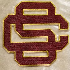 """USC Trojans 3.5"""" Iron or Sew On Embroidered Patch ~FREE Ship`!!"""