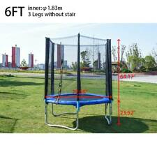 6FT Trampoline Kids Adults with Enclosure Net Indoor Outdoor Trampoline