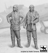 Black Dog 1/32 British RAF Fighter Pilots Set 1940-1945 WWII (2 Figures) F32030