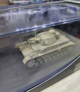 1:72 WWII German Army Panzer-IV Tank Desert Color Metal + Plastic Parts Model