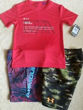 NEW UA UNDER ARMOUR SWIM SHORTS AND SHIRT 5 lot