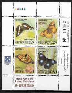 Micronesia 190 Butterflies Mint NH