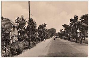 DDR Ak Glowe Rügen Dorfstraße um 1960 !