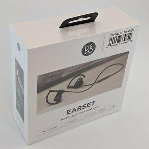 New In Box Bang & Olufsen Earset - Premium Wireless Earphones, Graphite Brown