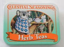 New listing Koala Bear Tin Celestial Seasonings Tea Mini Tin