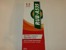 Rub A535 Extra Strength Heating Cream Muscle, Joint, Back, Arthritis Pain Relief