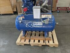 Quincy 325 Qrb with a 40 gallon volume tank & an Hankison air drier series E