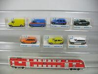 AP373-0,5# 7x Rietze H0 Modelle: Opel DEA+Ford Quelle/Fahrschule/Post etc, NEUW