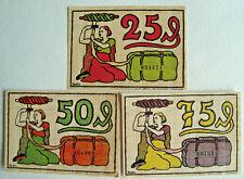 Notgeld Gemeinde Blumenthal Hannover Kompl.Serie Germany Emergency Money (2628)
