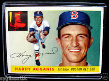 1955 Topps HARRY AGGANIS #152 Baseball Card-VG/EX Condition-BOSTON RED SOX