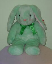 Ty Spring Mint Bunny * Hippity * Long Ears * Pink Nose * New * 13 Inch *