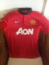 NIKE Authentic Manchester United Red Devils soccerJersey  size XL MENS