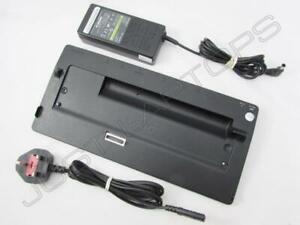 Sony Vaio SZ Series VGN-SZ645P3 Docking Station Port Replicator + Power Supply