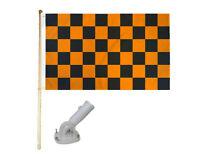240cm x 150cm Giant Checkered Black /& White 8ft x 5ft Flag