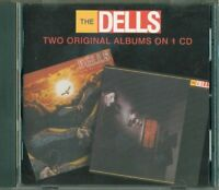The Dells - New Beginnings / Face To Face Two Original Albums On 1 Cd Perfetto