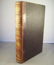 JOSEPH BESSON / LA SYRIE ET LA TERRE SAINTE AU XVII° S. / REL. 1/2 CUIR 1862