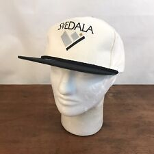 Svedala White Cotton Adjustable Trucker Cap Hat CH35