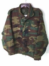 PJ MARK Removable Quilted Lining Hooded Woodland Military Style Field Jacket  M