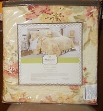 Mary Jane's Home, VINTAGE LACE 4 Piece Twin Quilt Set, NIP **Retail $242.00**